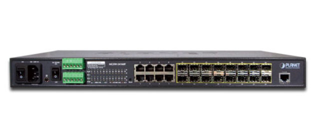 24-Port 100/1000X Managed Switches MGSW-24160F